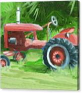 Retired Farmall Canvas Print