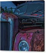 Retired Rusty Mack IIi Canvas Print
