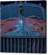 Retired Rusty Mack Iv Canvas Print