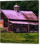 Retired Vermont Farm Canvas Print