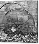 Retired Wheel Canvas Print