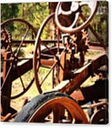 Retired Wheels Canvas Print