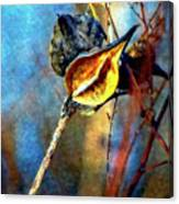 Retirement Watercolor Canvas Print