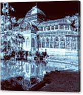 Retiro Park Crystal Palace Canvas Print