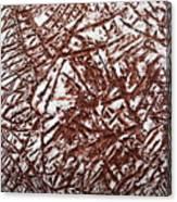 Retreating - Tile Canvas Print