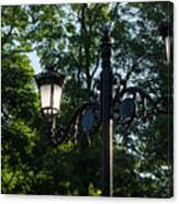 Retro Chic Streetlamps - Old World Charm With A Modern Twist Canvas Print
