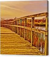Retro Crosswinds 101914 Canvas Print