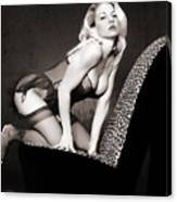 Retro Pinup Canvas Print