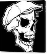 Retro Skull Canvas Print