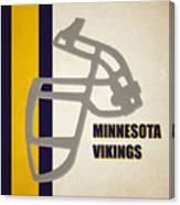 Retro Vikings Art Canvas Print