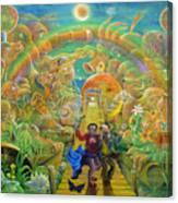 return from Hispaniola Canvas Print