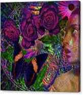 Return Of Paradise Glass Canvas Print