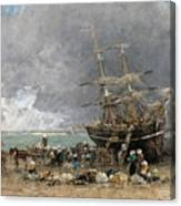Return Of The Terre-neuvier Canvas Print