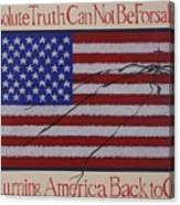 Returning America Back To God Canvas Print