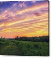 Retzer Nature Center - Summer Sunset #4  Canvas Print