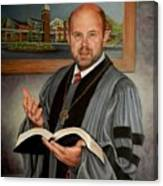 Rev. Jeff Garrison Canvas Print