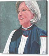 Reverend Mary Gregorius Canvas Print