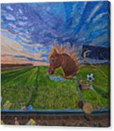 Revisiting, The Childhood Ride Canvas Print
