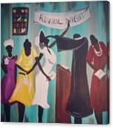 Revival Night Canvas Print