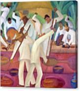 Revueltas: El Trapiche Canvas Print