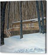 Rex Cabin Canvas Print