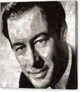 Rex Harrison, Vintage Hollywood Legend Canvas Print
