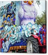 Rex Mardi Gras Parade Iv Canvas Print