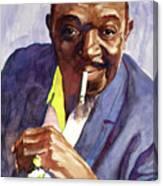 Rex Stewart Jazz Man Canvas Print