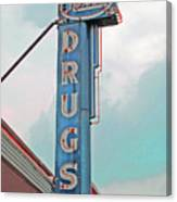 Rexall Drugs Canvas Print