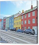 Reykjavik Street Iceland 2 3122018j2325.jpg Canvas Print