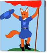 Reynard The Fairy Tale Fox Canvas Print