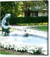 Reynolda Fountain Canvas Print