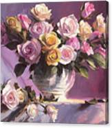 Rhapsody Of Roses Canvas Print