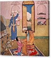 Rhazes, Islamic Polymath Canvas Print