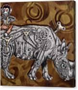 Rhino Mechanics Canvas Print