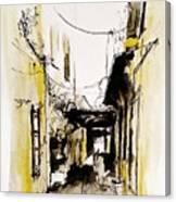 Rhodos City Canvas Print