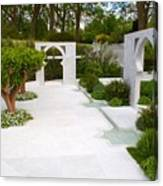 Rhs Chelsea Beauty Of Islam Garden Canvas Print