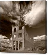 Rhyolite Nevada Ghost Town Canvas Print