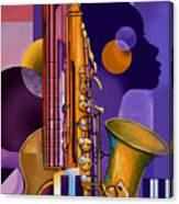 Rhythm Child Canvas Print
