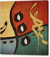 Rhythms Canvas Print