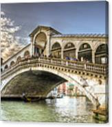 Rialto Bridge Canvas Print