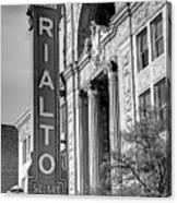 Rialto Square Theater Canvas Print