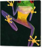 Ribbit Canvas Print