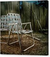 Ribbon Chairs Canvas Print