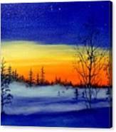 Ribbon Of Light Canvas Print