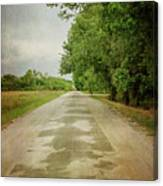 Ribbon Road - Sidewalk Highway Canvas Print
