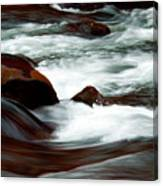Ribbons Of Water Canvas Print