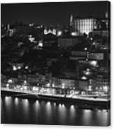 Ribeira By Night Canvas Print