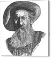 Richard Beaver Dick Liegh Canvas Print