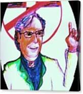 Richard Dawkins Loves To Preach Canvas Print